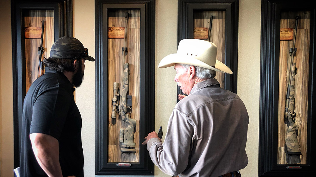 Weatherby Rifles leaves California, showroom