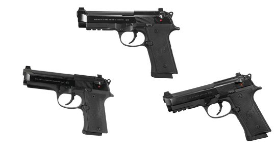 Beretta 92X Series, Full, Compact and Centurion