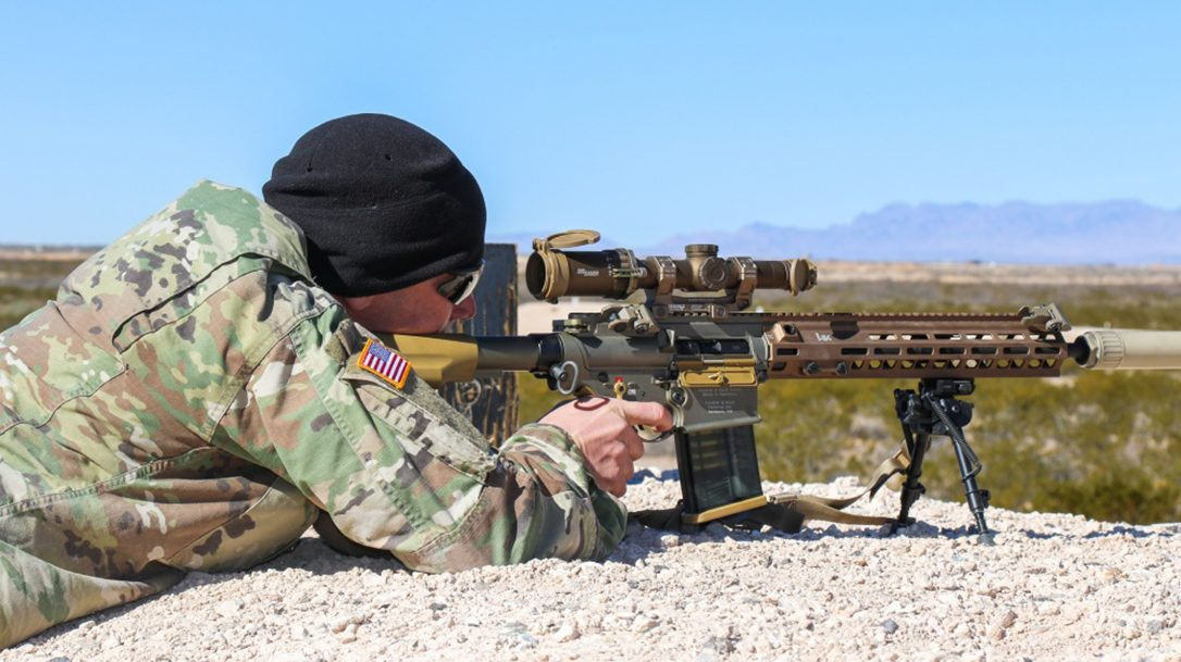 Army to begin fielding HK SDMR system.