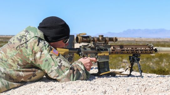 Army to begin fielding HK SDMR system.