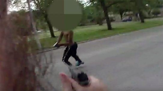 Milwaukee PD Shoot Suspect Who Pulls Gun and Fires on officer
