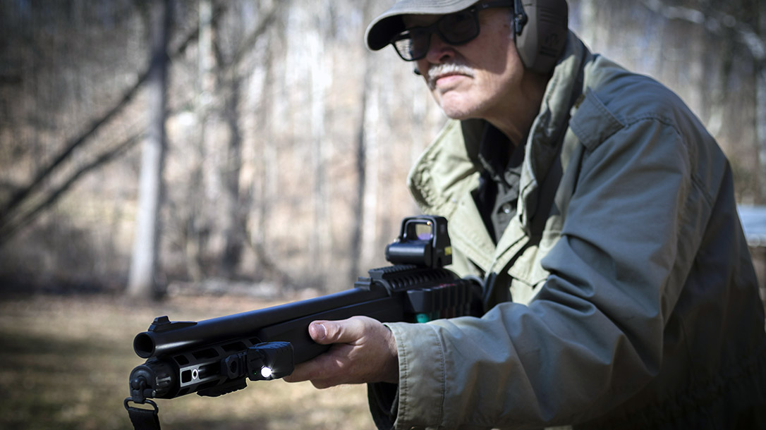 The Remington Versa Max R12 proved capable in defensive shooting.