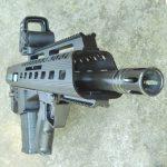 K&M Arms M17S308 angle view