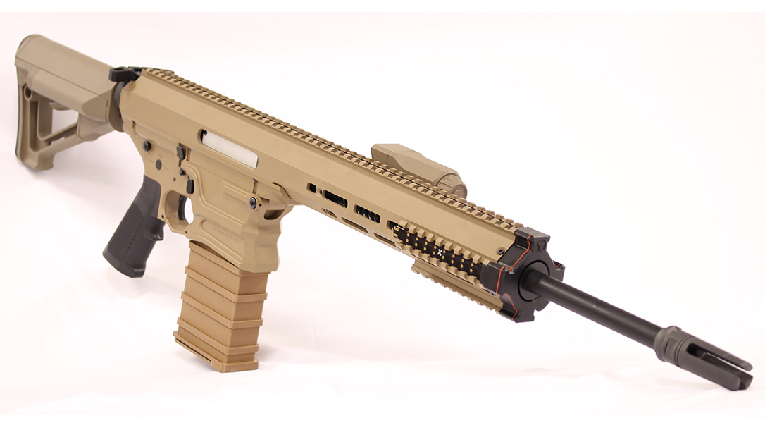 The MARS NGSW submission light machine gun features an 18-inch barrel.