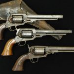 Three versions of the Whitney revolver.