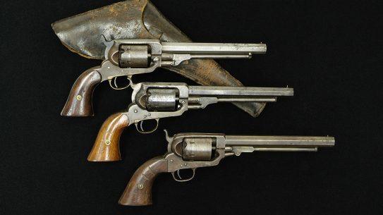 Three versions of the Whitney revolver.