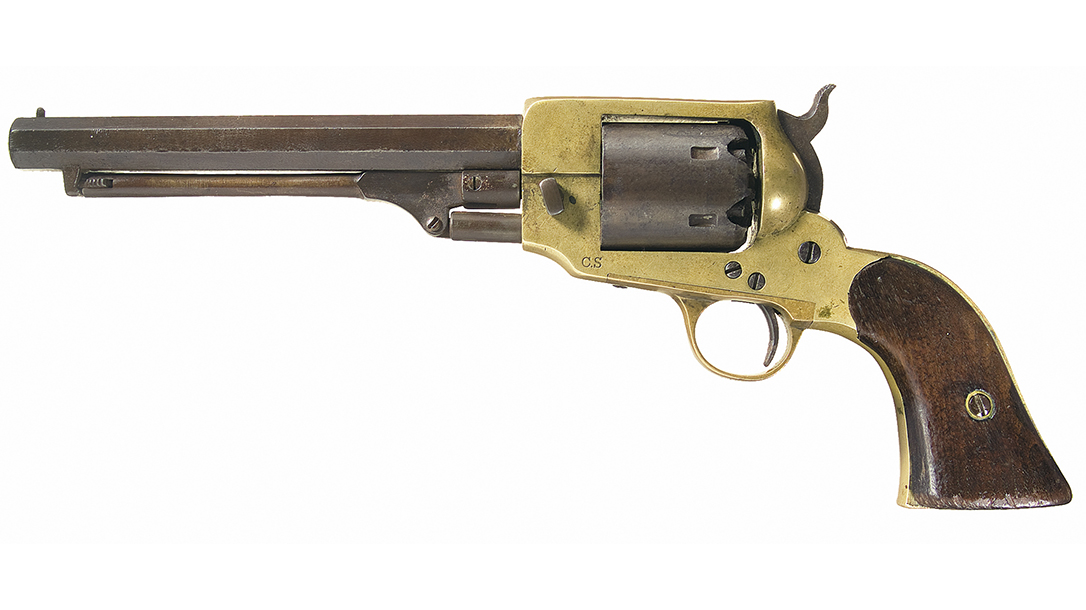 1862 Spiller & Burr was a hybrid of Whitney frame and Colt mechanism.