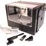 The Defense Distributed Ghost Gunner is a hobby-sized CNC.