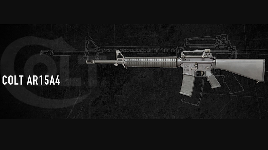 Colt issues statement regarding rifles sales to consumer market.