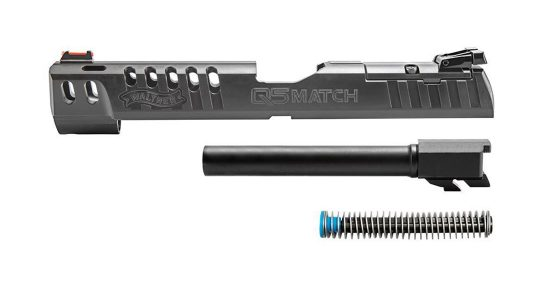 The Walther Q5 Match Conversion Kit transforms the PPQ into a race gun.