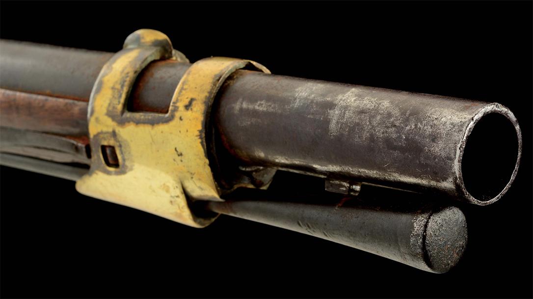 Dutch Flintlock musket, barrel.