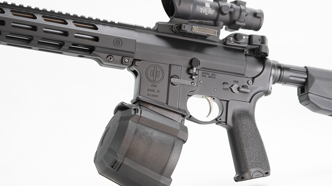 You'll have plenty of money to add a drum mag with this sub-$1,000 rifle.