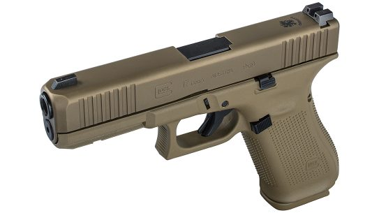 Award-winning G17 Gen5 angle view, Portuguese Army
