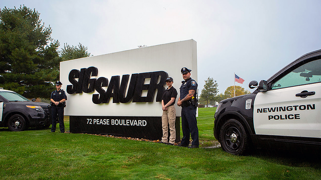 The Newington Police Department switched to the SIG Sauer P320 pistol.