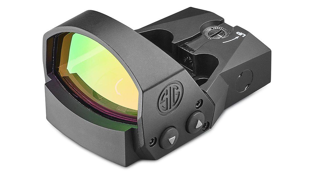 SIG Romeo1 Pro, angle view.