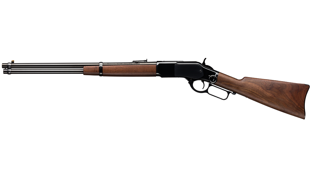 Winchester 1873 Carbine left side.