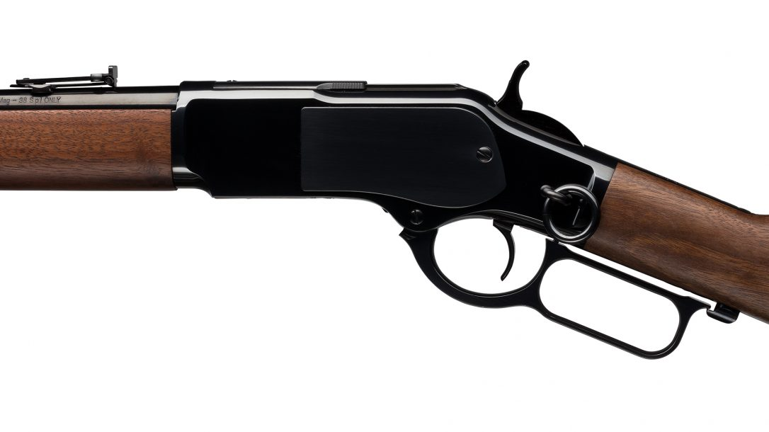 Winchester's 1873 Carbine brings back the popular saddle ring.