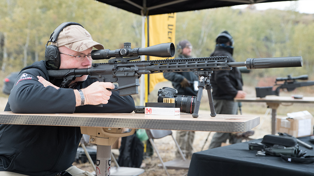 The DD5V4 sports an 18-inch barrel for distance work.
