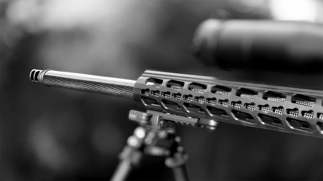 Helix 6 Precision Carbon Fiber barrels upgrade the Ruger Precision Rifle.