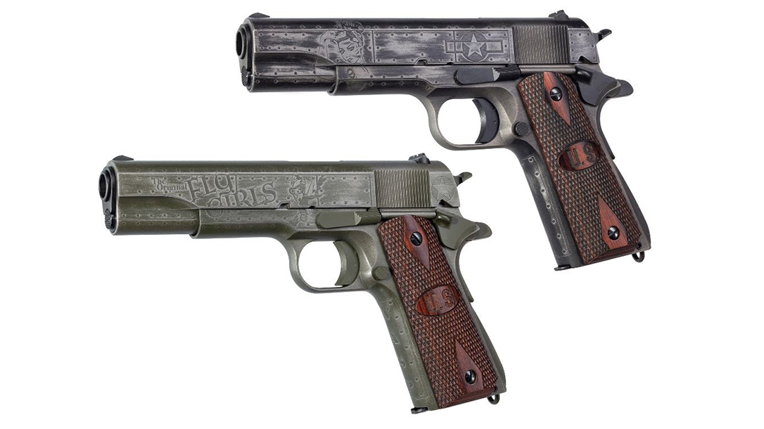 Auto-Ordnance Victory Girls and Fly Girls 1911s are only available for a limited time.