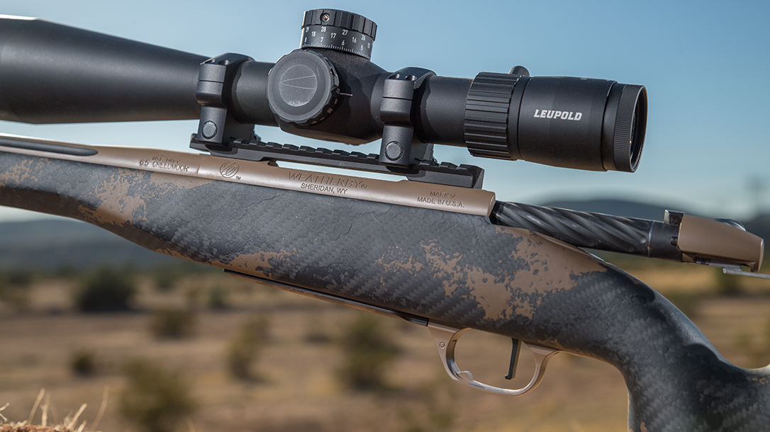 Chambered in 6.5 Creedmoor, the new Weatherby Mark V Accumark Elite excels as a lightweight hunting rifle.
