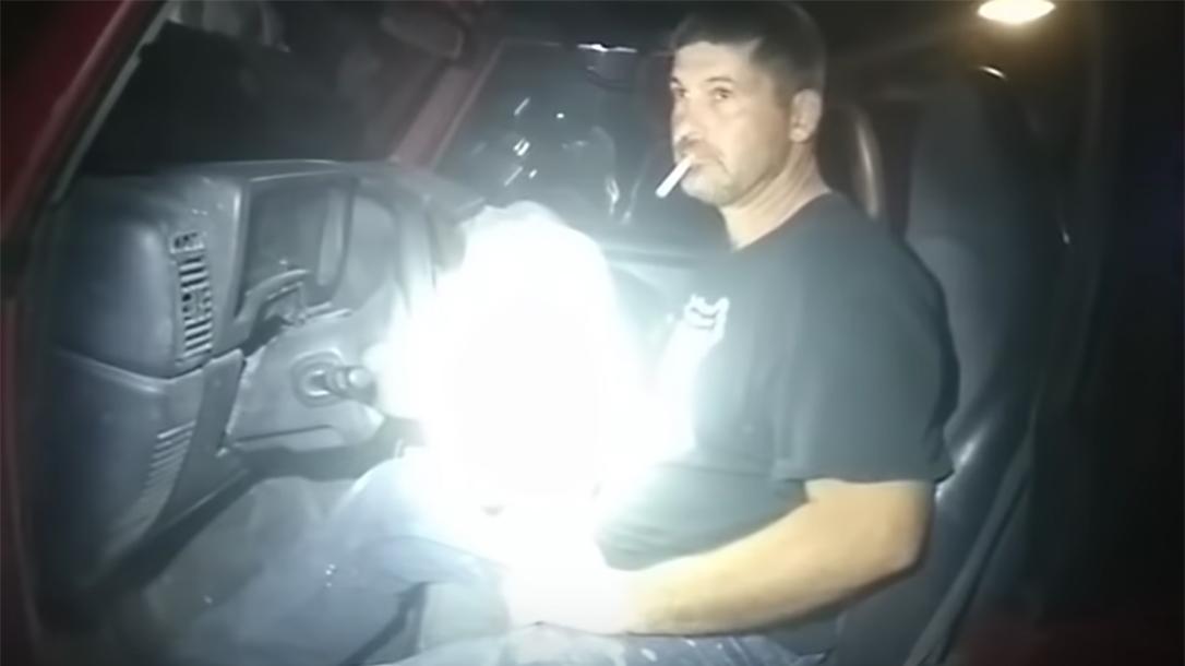 officer breaks down, Evansville Police Officer, suspect, hammer