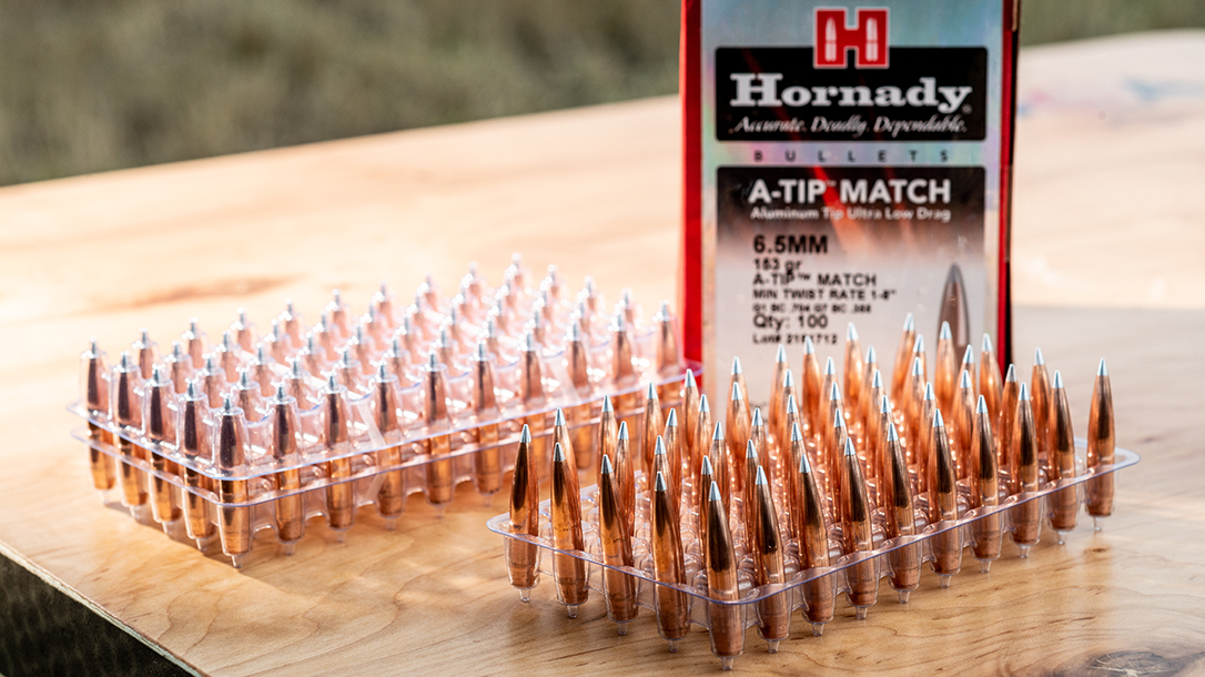 Accurate and consistent, the Hornady A-Tip is a premium bullet.