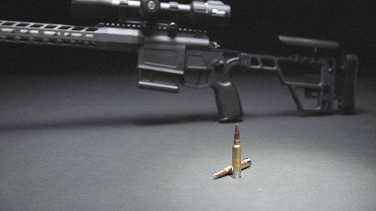 277 SIG Fury SAAMI, Sauer Cross, Ammunition, 135-grain Hybrid Match.