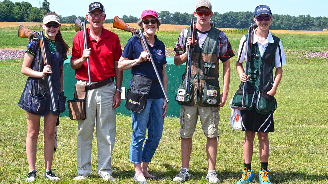 The Potterfields, via the MidwayUSA Foundation, pledged $150,000 for youth shooting sports.