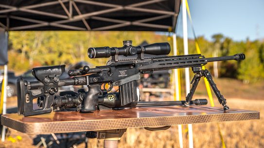 The author tested the new optics line on several rifles to good results.