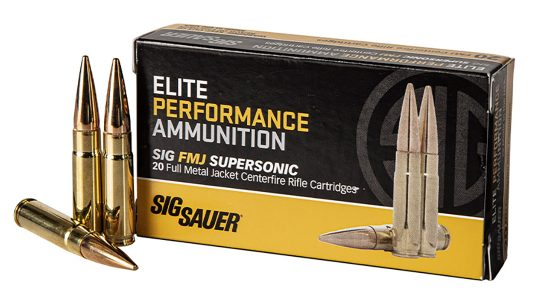 The SIG Elite Performance line just added a 125-grain 300 BLK loading.