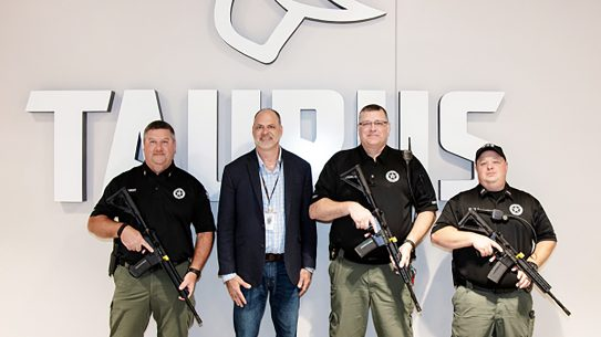 Taurus delivered T4 rifles to two Georgia LE departments.