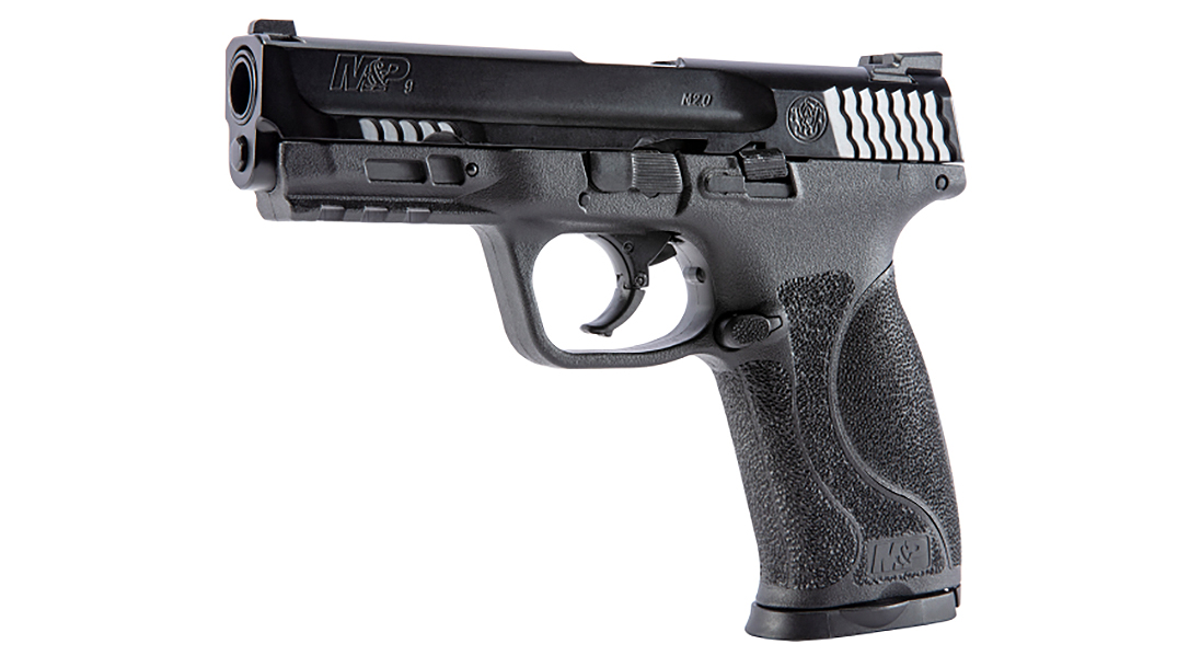 The T4E Training Pistol delivers the fit and feel of a service pistol.