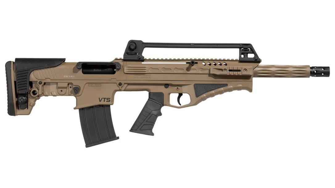 The Escort BTS Bullpup shotgun is a short, compact CQB-worthy system.
