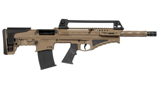 The Escort BTS Bullpup shotgun is a short, compact CQB-worthy system.