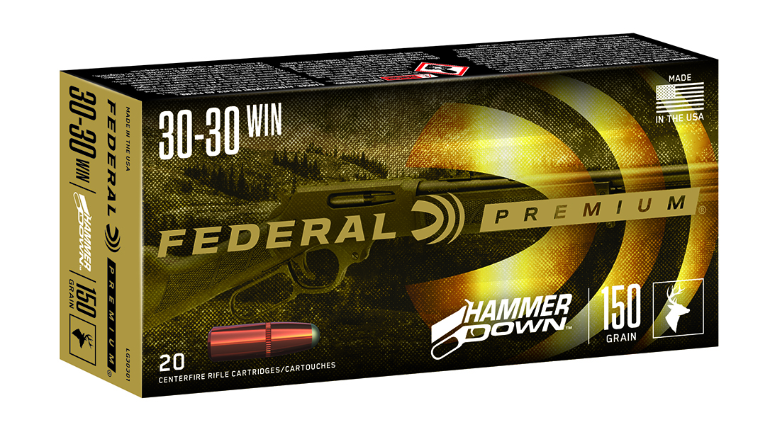 Federal HammerDown is designed to reliably feed in lever-action rifles.