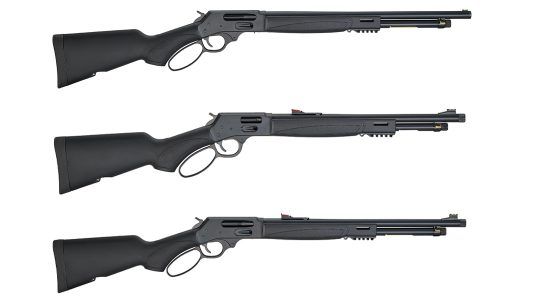 The Henry X series feature both rifles and a shotgun model.