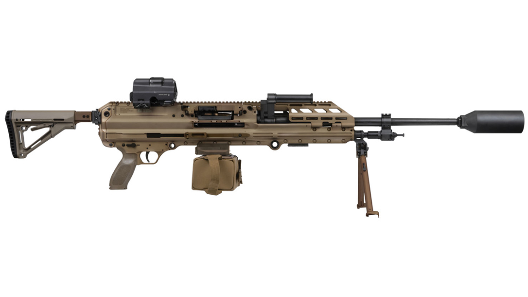 SIG MG 338 Machine Gun, USSOCOM, 338 Norma Mag, extended