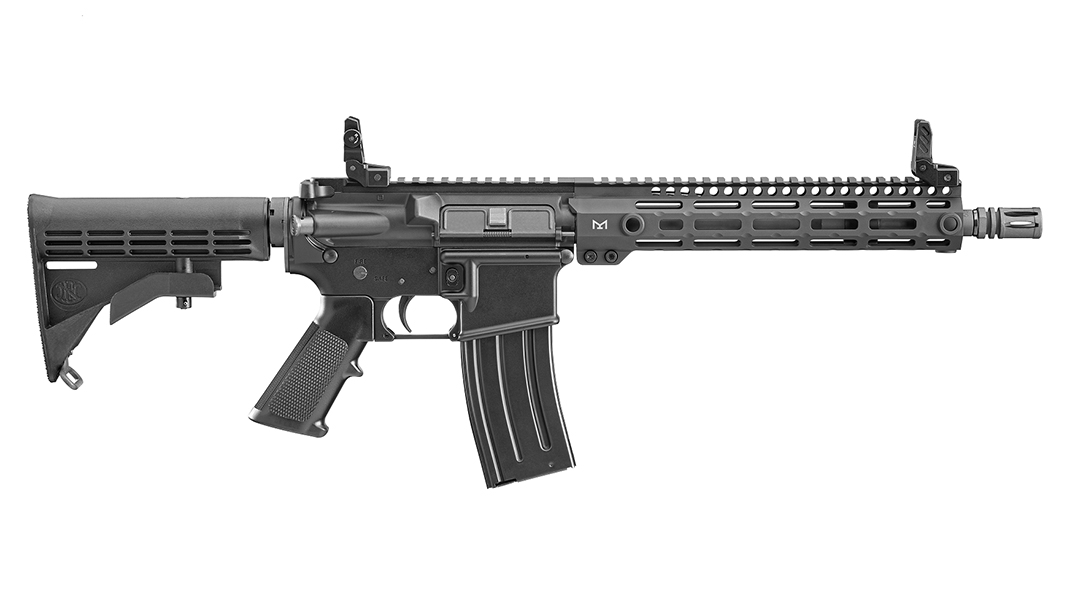 The 11.5-inch SRP G2 comes ready for vehicle and CQB work.