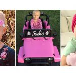 Sadie will undergo 66 cancer treatments to defeat her disease.