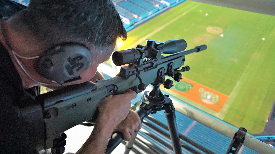 Super Bowl LIV Police Sniper Training
