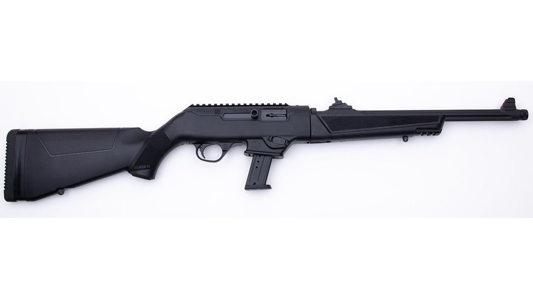 The Ruger PC Carbine uses either Ruger or Glock magazines