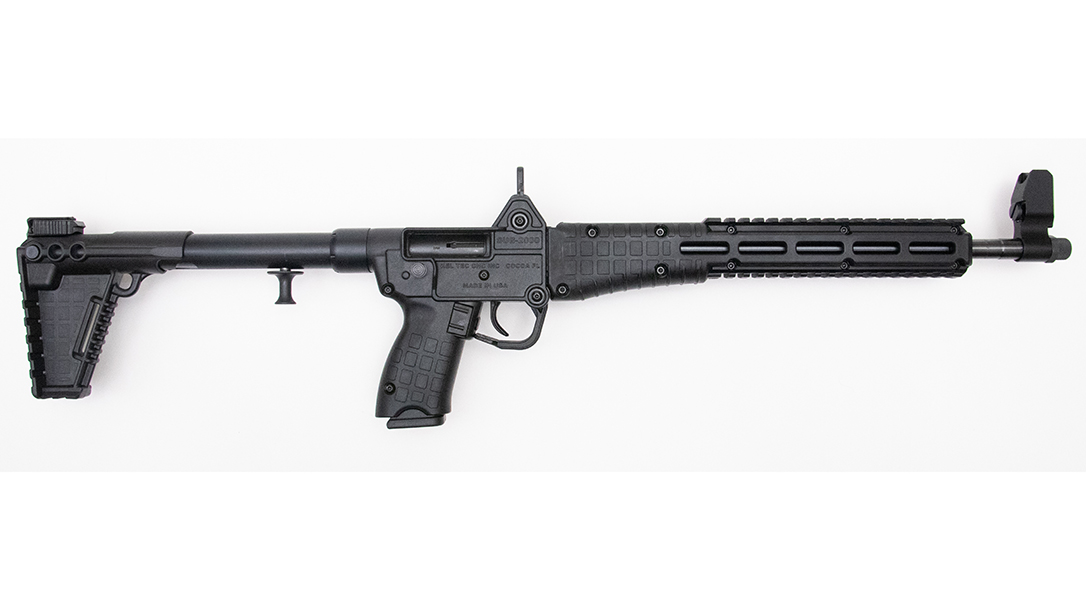 The KelTec Sub2000 comes in extremely inexpensive in our 9mm carbine takedown test.