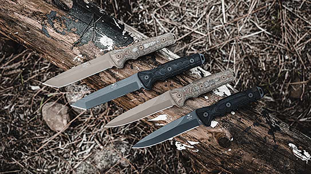 Tested by military operators, the Buck Ground Combat Knives are built tough.