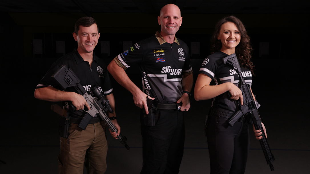 SIG Sauer Academy offers classes from Team SIG world champion shooters.