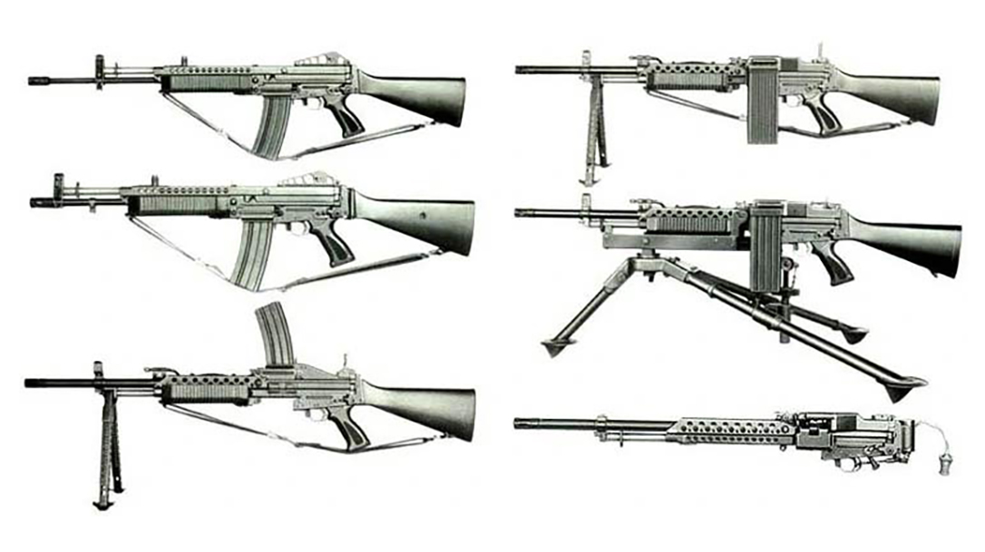 The Stoner 63 is an iconic military gun and stepping stone in Army Guns development.