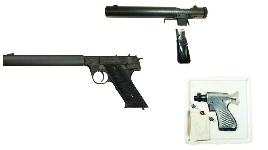Spy Guns, CIA Guns, OSS Guns, reup
