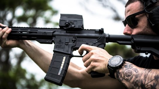 IWI broke new ground wight the debut of its first AR-style rifle, the Zion-15.