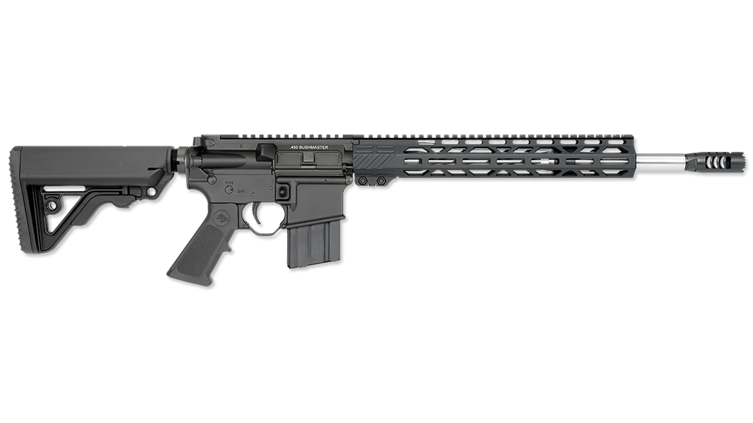 Straight-walled case fans get another option with the new Rock River LAR 450 Bushmaster.