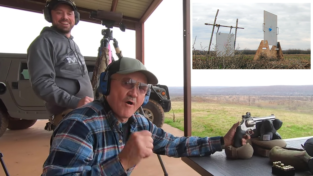 Watch Jerry Miculek Goes 1 000 Yards With Revolver In 4 Shots Tactical Life Gun Magazine Gun News And Gun Reviews